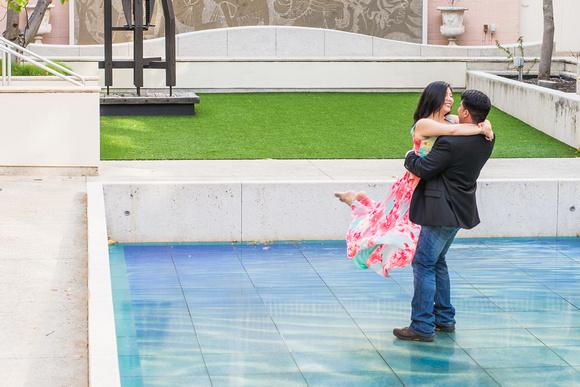 Engaged Oahu Photographer