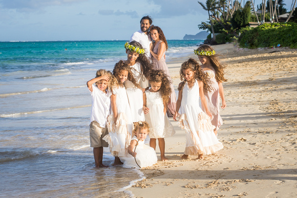 Family, Love, Kailua beach session,