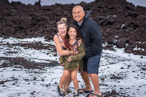 Hawaii, snow, family, Oahu, Big Island, shutter speed