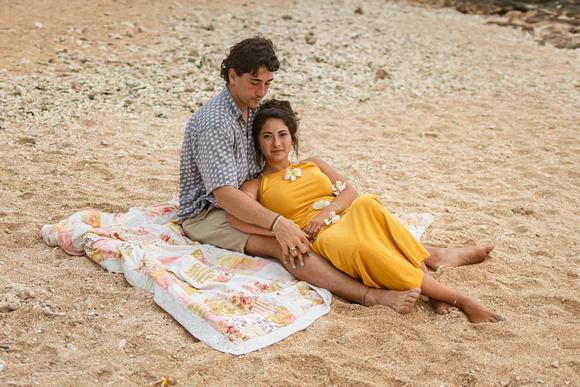 Elopement, Engagement, Beach wedding,