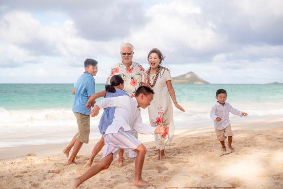 Group Family Photos Oahu