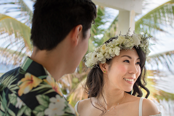 Oahu, elopement