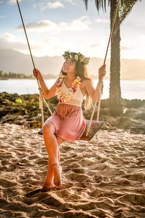 Oahu Child Portraits, Hawaii Photographer, Oahu Family Photographer, Hawaii swings,