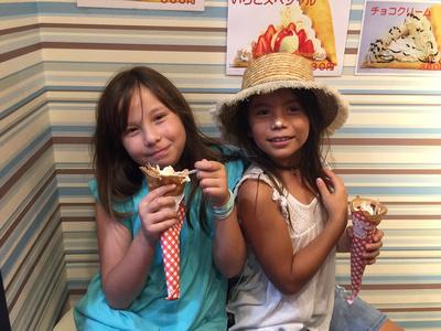 Japan, Travel tips, Hawaii Family Photographer, Tokyo, Oahu family photographer, crepes, kichijoji, dessert