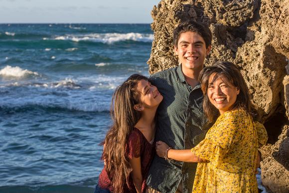 Senior photos, Kaena point, Oahu Family photographer, Oahu Senior photographer, beach session Hawaii, Golden hour
