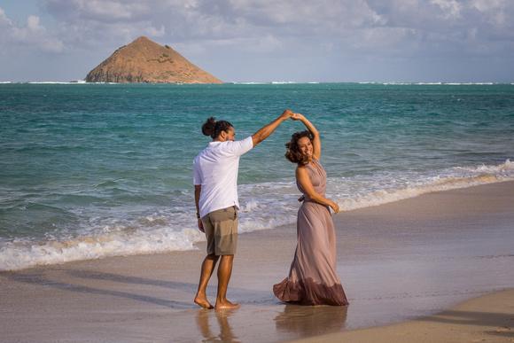 Couples, Love, Kailua, Romantic, Lulu's