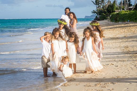 Family, Love, Kailua beach session,