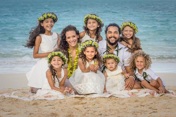 Picket Fence Florist, leis, curls, Kailua Beach