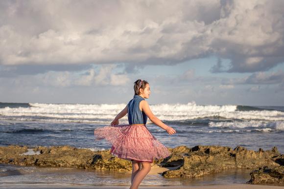 Family Portrait, Oahu, North shore, Hawaii, Beach, tween,
